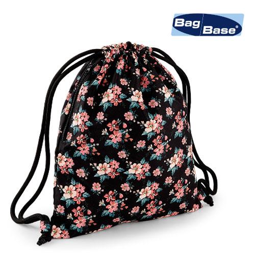 BG180 - Graphic Drawstring Backpack