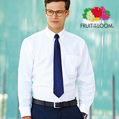 F600 - Men`s Long Sleeve Oxford Shirt