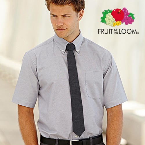 F601 - Men`s Short Sleeve Oxford Shirt
