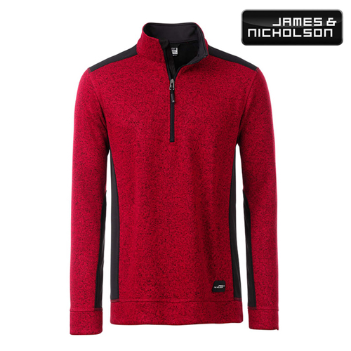 JN864 - Men's Knitted Workwear Fleece Half-Zip