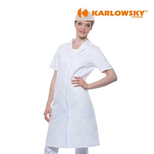 KY033 - Basic Damenmantel Kurzarm (Karlowsky)