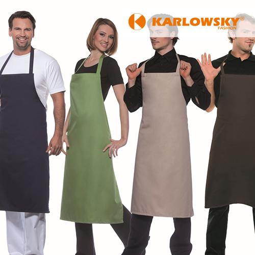 KY045 - Basic Latzschürze 65/35 (Karlowsky)