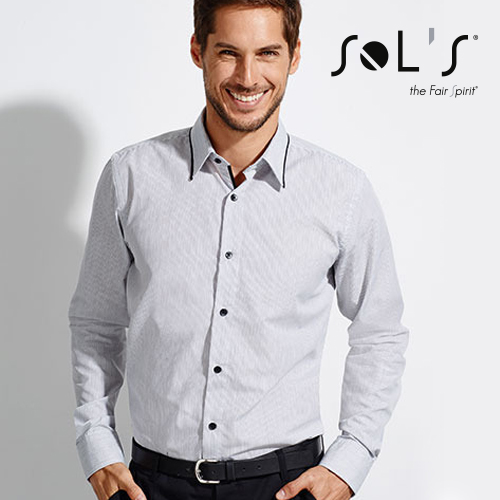 L607 - Long Sleeves Fitted Shirt Baxter Men