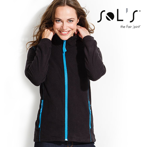 L828 - Micro Fleece Zipped Jacket Nova Women