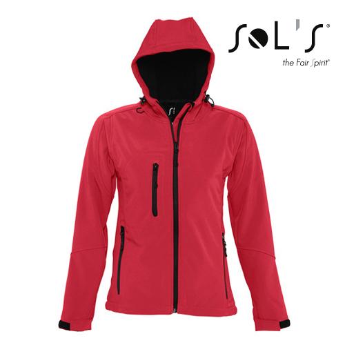 L849 - Womens Hooded Softshell Jacket Replay