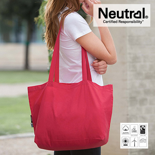 Shopping Bag with Gusset - Neutral - NE90015