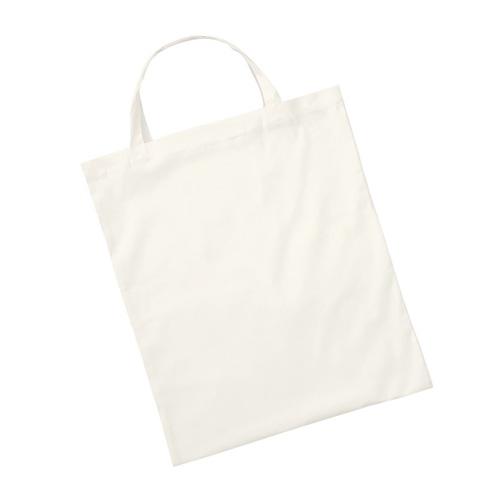 PETER - Baumwolltasche mit kurzen Henkeln (140 g/m²)