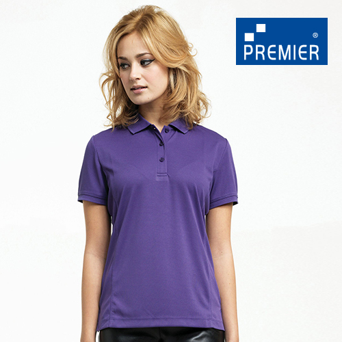 PW616 - Womens Coolchecker Pique Polo (Premier Workwear)