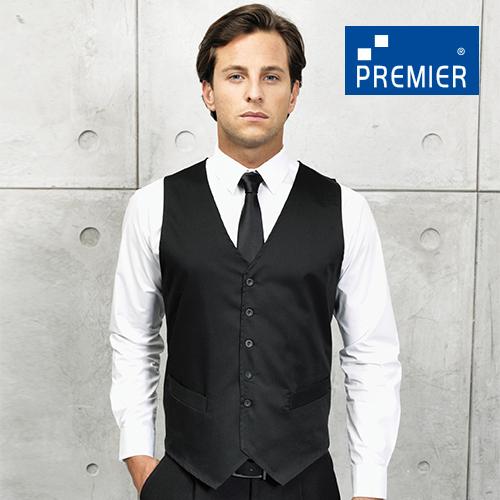 PW620 - Herren Gastro Weste (Premier Workwear)