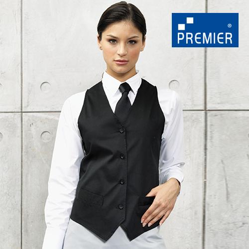 PW621 - Damen Gastro Weste (Premier Workwear)
