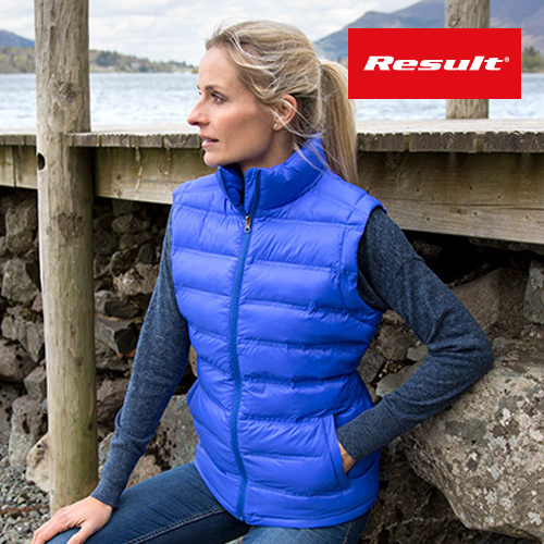Ladies Ice Bird Padded Gilet - RT193F