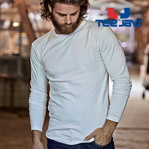 TJ530 - Mens Longsleeve Interlock T-Shirt Tee Jays