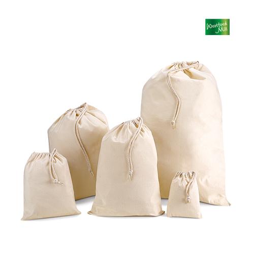 Cotton Stuff Bag / Zuziehbeutel L (40 x 50 cm) Westford Mill - WM115L_N