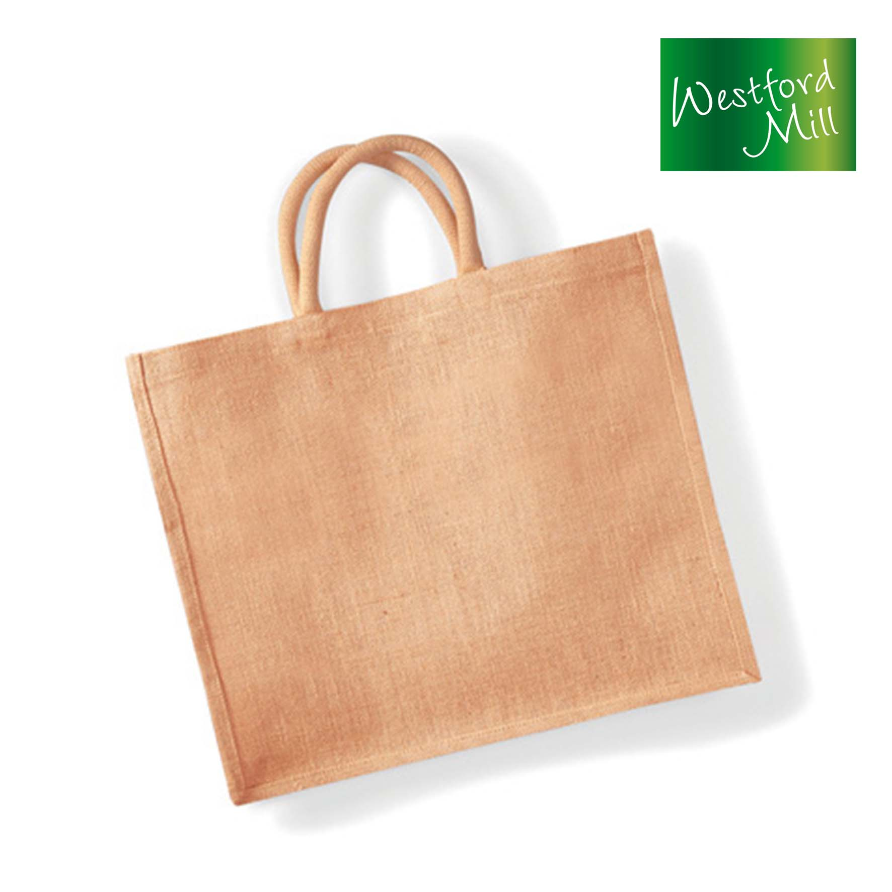 WM408 - Jumbo Jute Shopper Westford Mill
