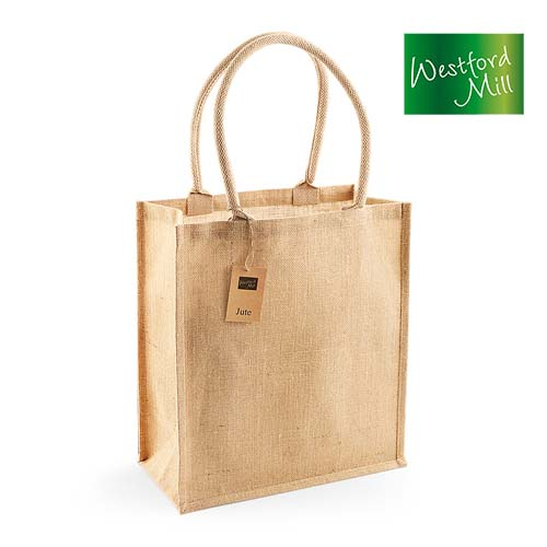 WM409 - Jute Shopper Bag Boutique 19 l