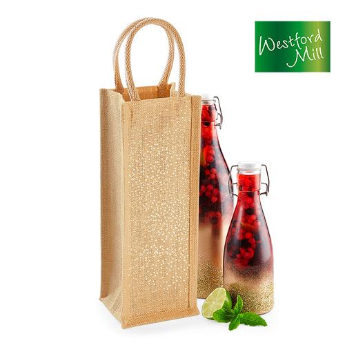 WM433 - Edle Geschenktasche für Flaschen bis 1,5 l