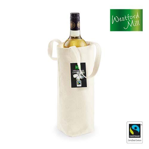 WM620 - Bottle Bag (Fairtrade Baumwolle)