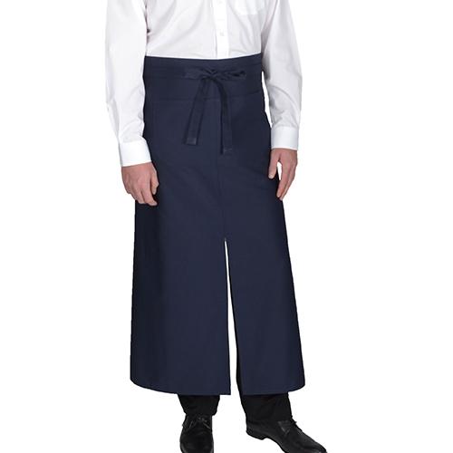 X962 - Bistroschürze Gehschlitz ( Link Kitchenwear  )