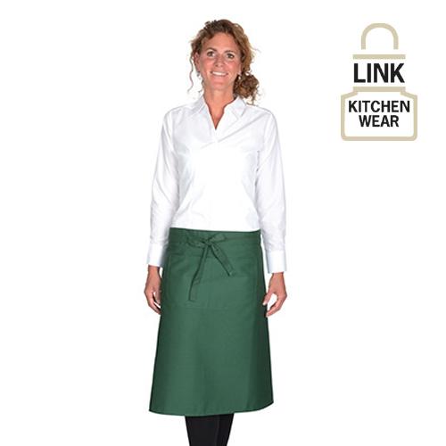 X970T - Kochschürze mit Fronttasche ( Link Kitchenwear)