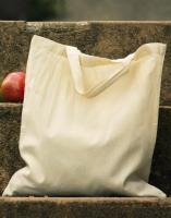 60757 - Organic Baumwoll-Tragetasche mit kurzen Henkeln
