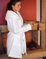 BD965 - Quick-Dry Bathrobe Hooded / Lady