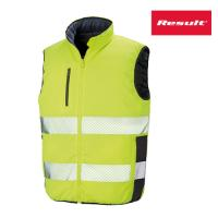 R332X - Reversible Soft Padded Safety Gilet - Warnschutzweste - Result