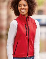 Z141F - Ladies` Softshell Gilet